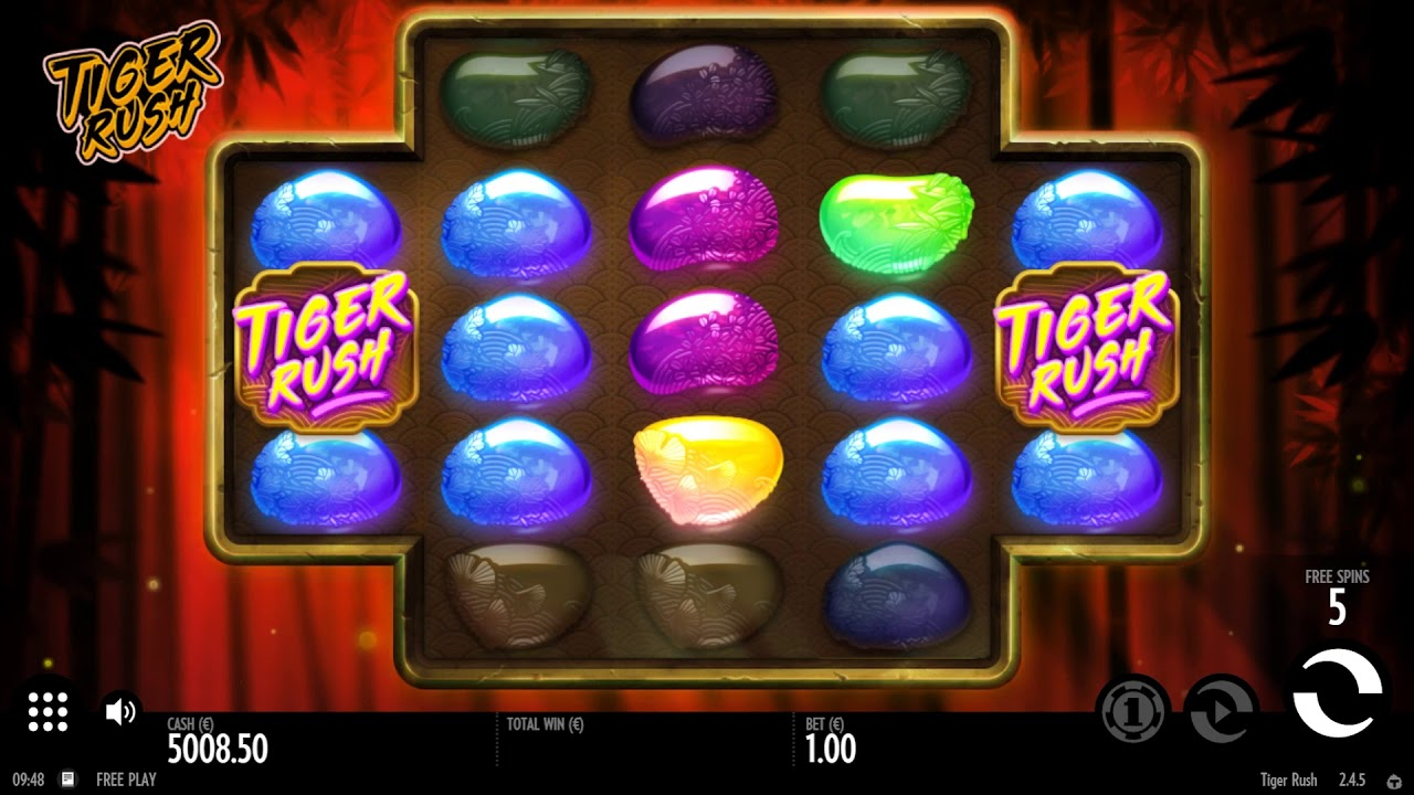Tiger Rush slot from Thunderkick about Eastern culture